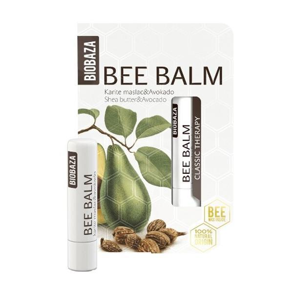 Balsam de Buze cu Unt de Shea si Avocado Biobaza, 4,5g poza