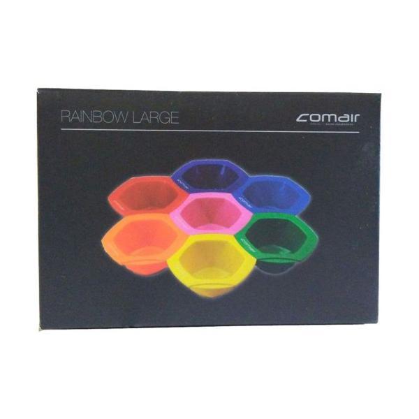 Set de 7 Boluri de Vopsit Diverse Culori Rainbow Comair Professional imagine produs