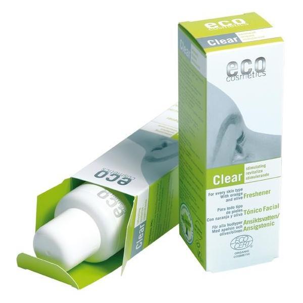 Lotiune Tonica pentru Fermitate cu Acid Hialuronic, Portocale si Maslin Eco Cosmetics, 100ml imagine produs