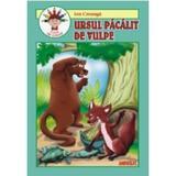 Ursul pacalit de vulpe - Ion Creanga (carte de colorat), editura Andreas