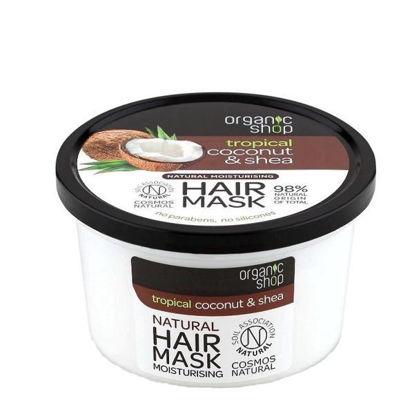 Masca Bio Hidratant Coconut & Shea Organic Shop, 250ml poza