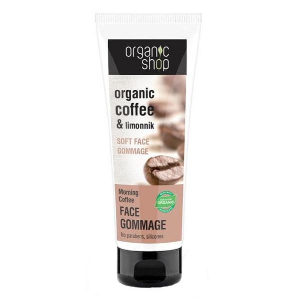 Gomaj Bland pentru Ten cu Cafea Morning Coffee Organic Shop, 75ml imagine produs