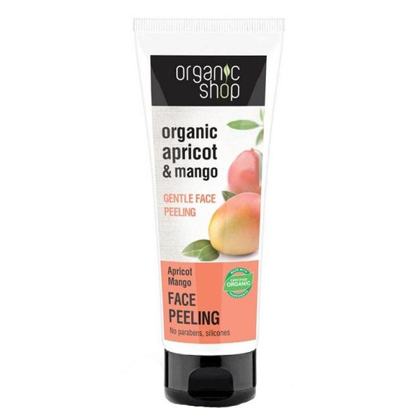 Peeling Delicat pentru Ten cu Mango si Caise Organic Shop, 75ml imagine produs