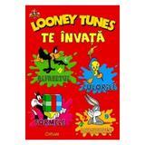 Loney Tunes te invata alfabetul, culorile, formele, numerele, editura Crisan