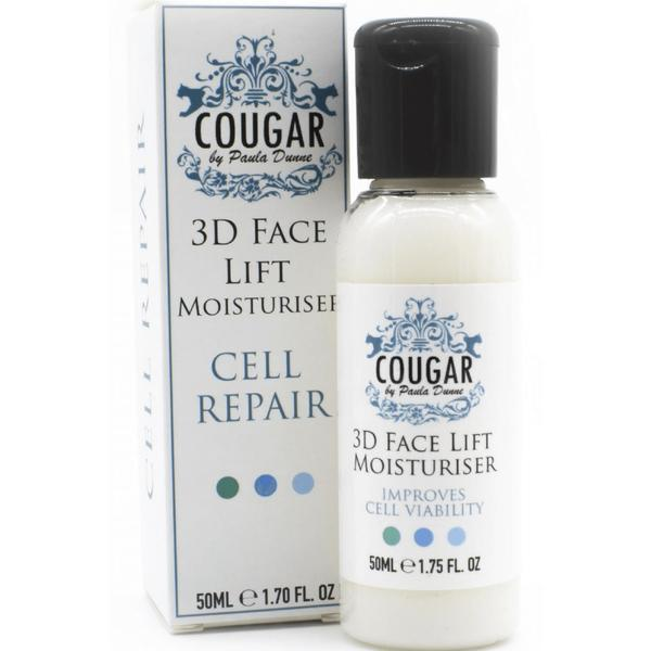 Crema hidratanta anti imbatranire 3D FaceLift Cell Repair Cougar 50 ml