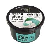 Exfoliant de Corp cu Sare Marina si Alge Atlantic Algae Organic Shop, 250ml