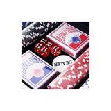 Set de poker cu 300 de jetoane, 38 x 20.5 x 6.5 cm