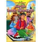 Aladin si lampa fermecata - Carte de colorat, editura Eurobookids