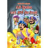 Ali Baba si cei 40 de hoti - Carte de colorat, editura Eurobookids