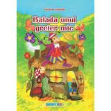 Balada unui greier mic - Carte de colorat, editura Eurobookids