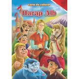 Harap Alb - Carte De Colorat A4, editura Eurobookids
