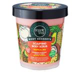 Scrub de Corp pentru Remodelare Tropical Mix Organic Shop, 450ml