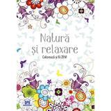 Natura si relaxare - terapie prin desen - carte de colorat pentru adulti, Didactica Publishing House