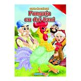 Punguta cu doi bani - Carte de colorat A4, editura Eurobookids