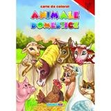 Animale domestice - Carte de colorat, editura Eurobookids