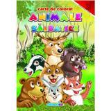Animale salbatice - Carte de colorat, editura Eurobookids