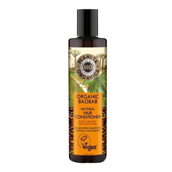 Balsam Organic pentru Volum cu Ulei de Baobab Planeta Organica, 280ml imagine produs