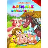 Animale domestice pui - Carte de colorat, editura Eurobookids