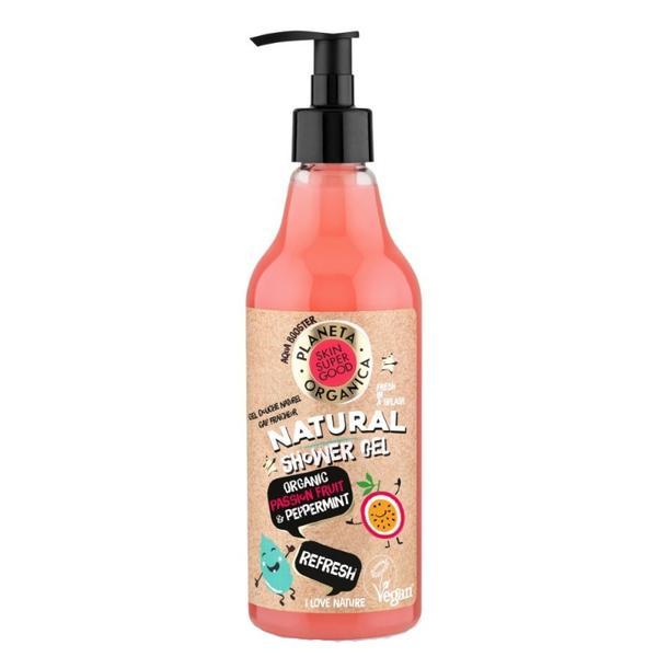 Gel de Dus Natural Refresh Skin Super Good Planeta Organica, 500ml poza