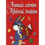 Animale coloram alfabetul invatam, editura Flamingo