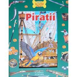 Piratii cu 8 puzzle, editura Flamingo