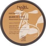 Unt de Shea Organic cu Aroma de Vanilie Najel, 100 g