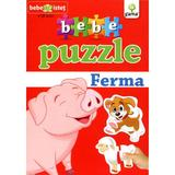 Bebe Puzzle +18 Luni - Ferma, editura Gama