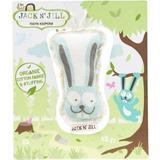 Saculet din Bumbac Organic pentru Pastrarea Dintilor de Lapte Bunny Jack'n Jill