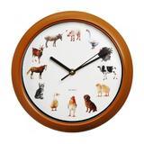 Ceas de perete, 12 sunete de animale la fiecare ora exacta