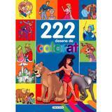 222 Desene De Colorat, editura Girasol
