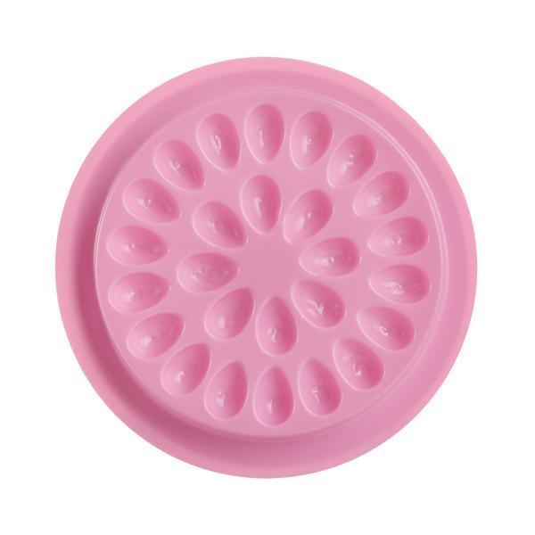 Suport adeziv gene, set 25 buc, roz imagine produs