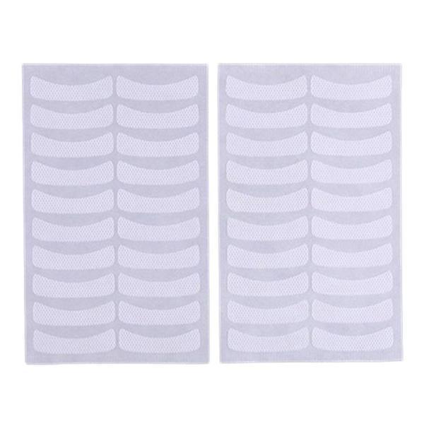 Set 100 plasturi Eye Patch, benzi adezive pentru extensii gene imagine produs