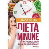 Dieta Minune - Drumul de la 120 la 60 kg, de Anca Bejan