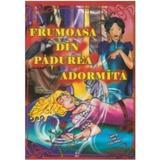 Frumoasa din padurea adormita dupa fratii Grimm - Carte de colorat A4, editura Omnibooks Unlimited