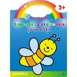 Lipeste, coloreaza si invata cuvinte 2 3 ani+, editura Prut