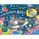 In adancul marii - Carte Pop up, editura Flamingo