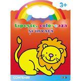 Lipeste, coloreaza si invata contrarii 3 ani+, editura Prut