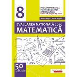 Matematica. Evaluarea Nationala 2020 - Clasa 8 - 50 de teste de antrenament - Anton Negrila, Maria Negrila, editura Paralela 45