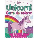 Unicorni. Carte de colorat - Brown Watson, editura Flamingo