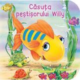 Casuta pestisorului Willy, editura Flamingo