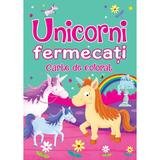 Unicorni fermecati. Carte de colorat - Brown Watson, editura Flamingo