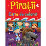 Piratii. Carte de colorat - Brown Watson, editura Flamingo