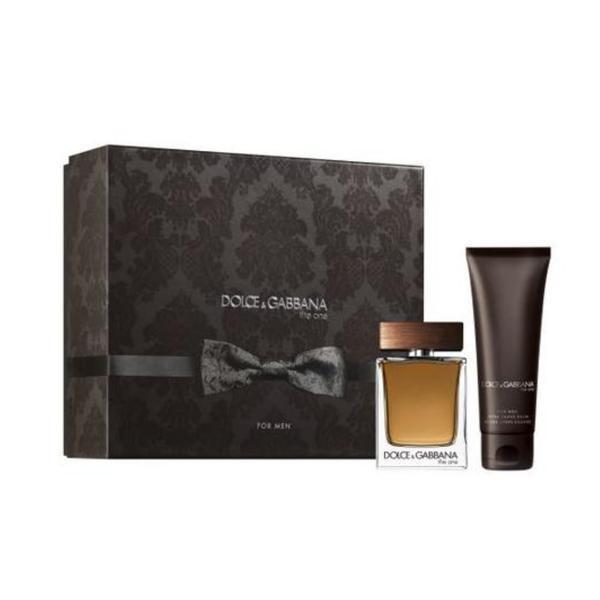 Set cadou Dolce & Gabbana, The One, Barbati: Apa de Toaleta, 50 ml + After Shave Balsam, 75 ml poza