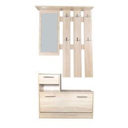 Set mobilier hol Filio stejar maro - Unic Spot Ro