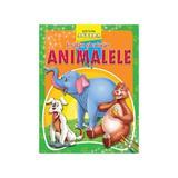 Invatam si coloram animalele, editura Anteea