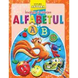 Invatam si coloram alfabetul, editura Anteea