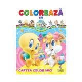 Coloreaza cu Baby Looney Tunes: Cartea celor mici, editura Corint