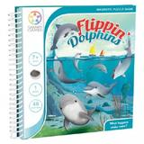 Puzzle flippin dolphins 7 ani+ (magnetic puzzle game) (smart games)