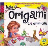 Origami cu animale - 20 de modele, editura Flamingo