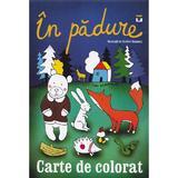 In padure - Carte de colorat, editura Pestalozzi